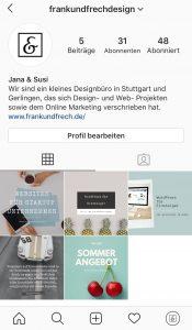 Bild des Unternehmensprofils von frank & frech design Stuttgart